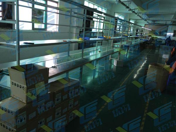 优闪移动电源工厂包装生产线