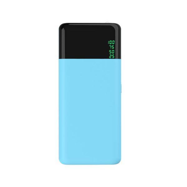 蓝色五节13000毫安移动电源